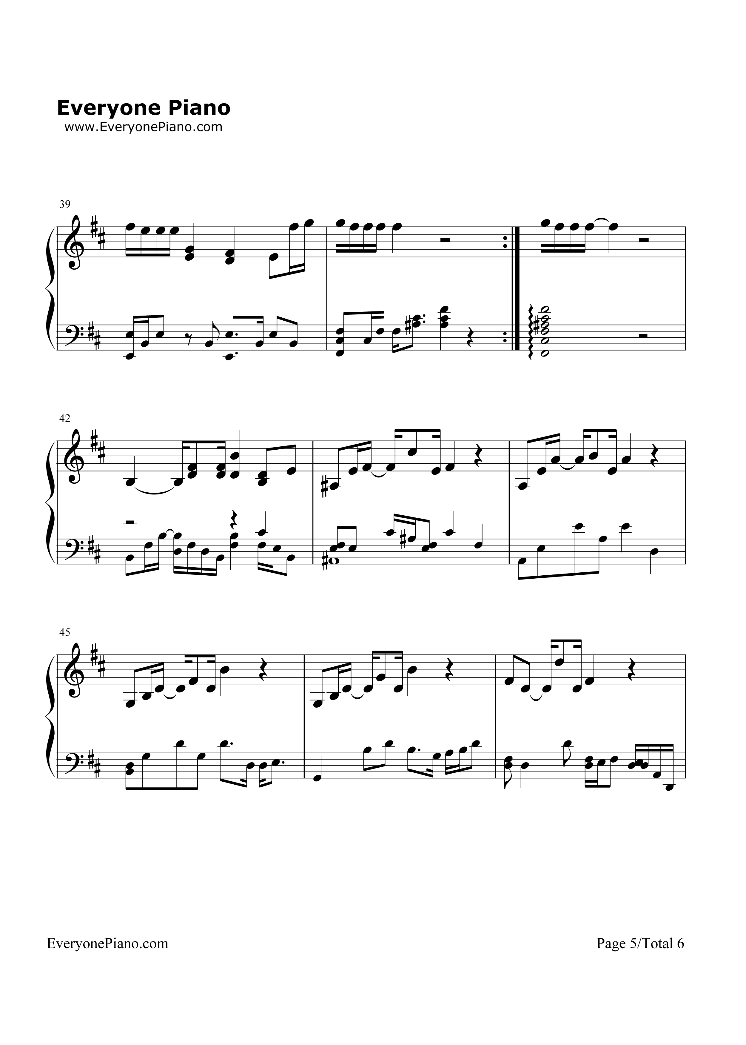 Hotel california the eagles stave preview 5 free piano sheet listen now print sheet hotel california the eagles stave preview 5 hexwebz Images