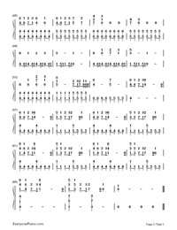 Safe And Sound Taylor Swift Free Piano Sheet Music Piano Chords