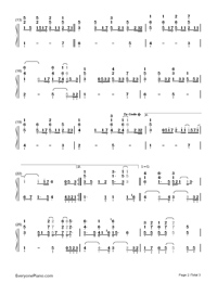 Hero-Mariah Carey-Numbered-Musical-Notation-Preview-2