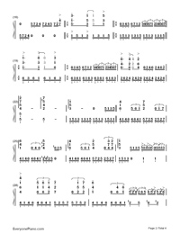 Unchained Melody-Numbered-Musical-Notation-Preview-2