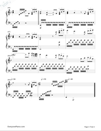 how to play chariot on piano