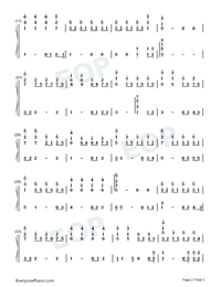 The Rose-Numbered-Musical-Notation-Preview-2