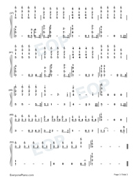 The Rose-Numbered-Musical-Notation-Preview-3