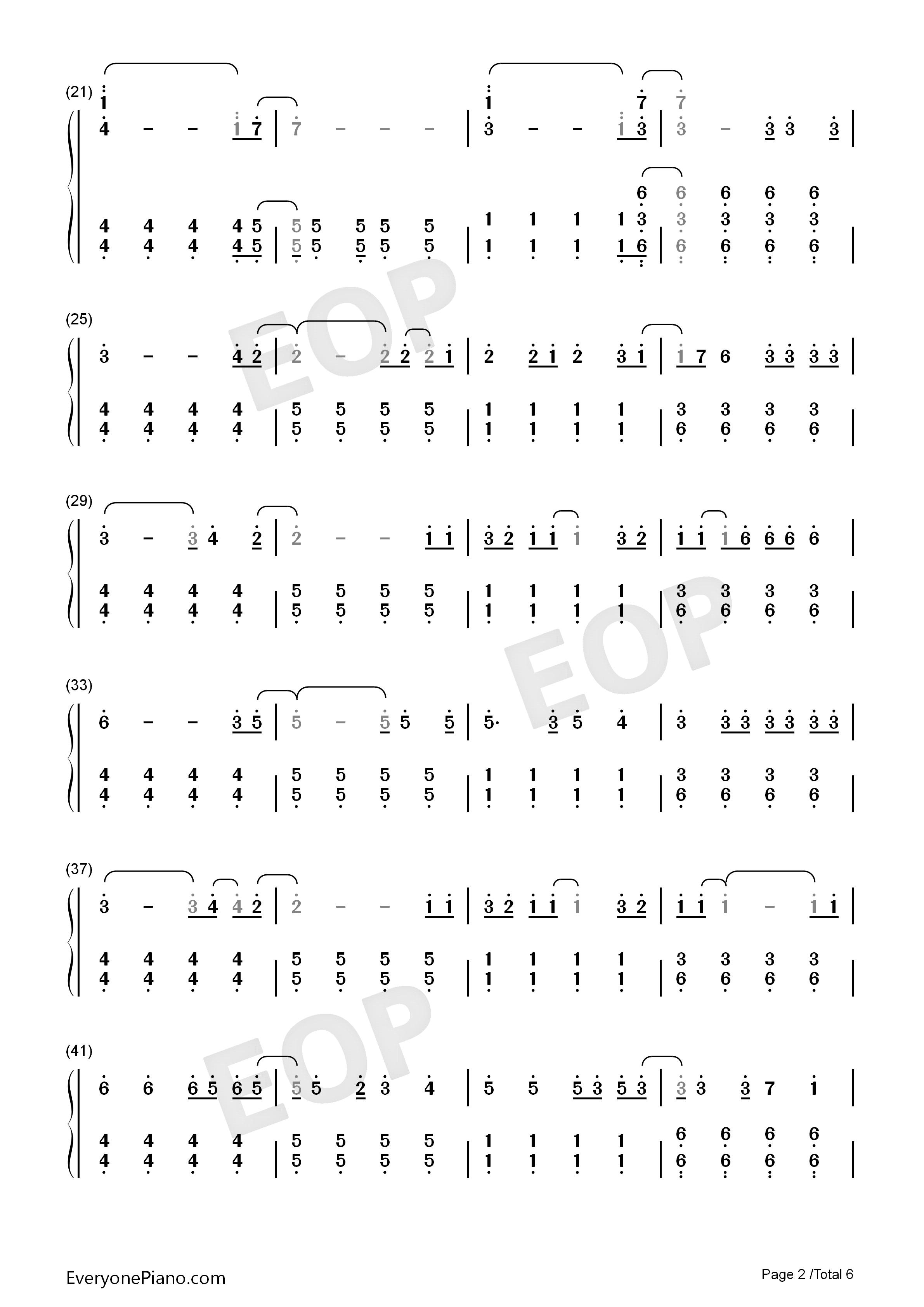Viva la vida numbered musical notation preview 2 free piano sheet listen now print sheet viva la vida numbered musical notation preview 2 hexwebz Choice Image