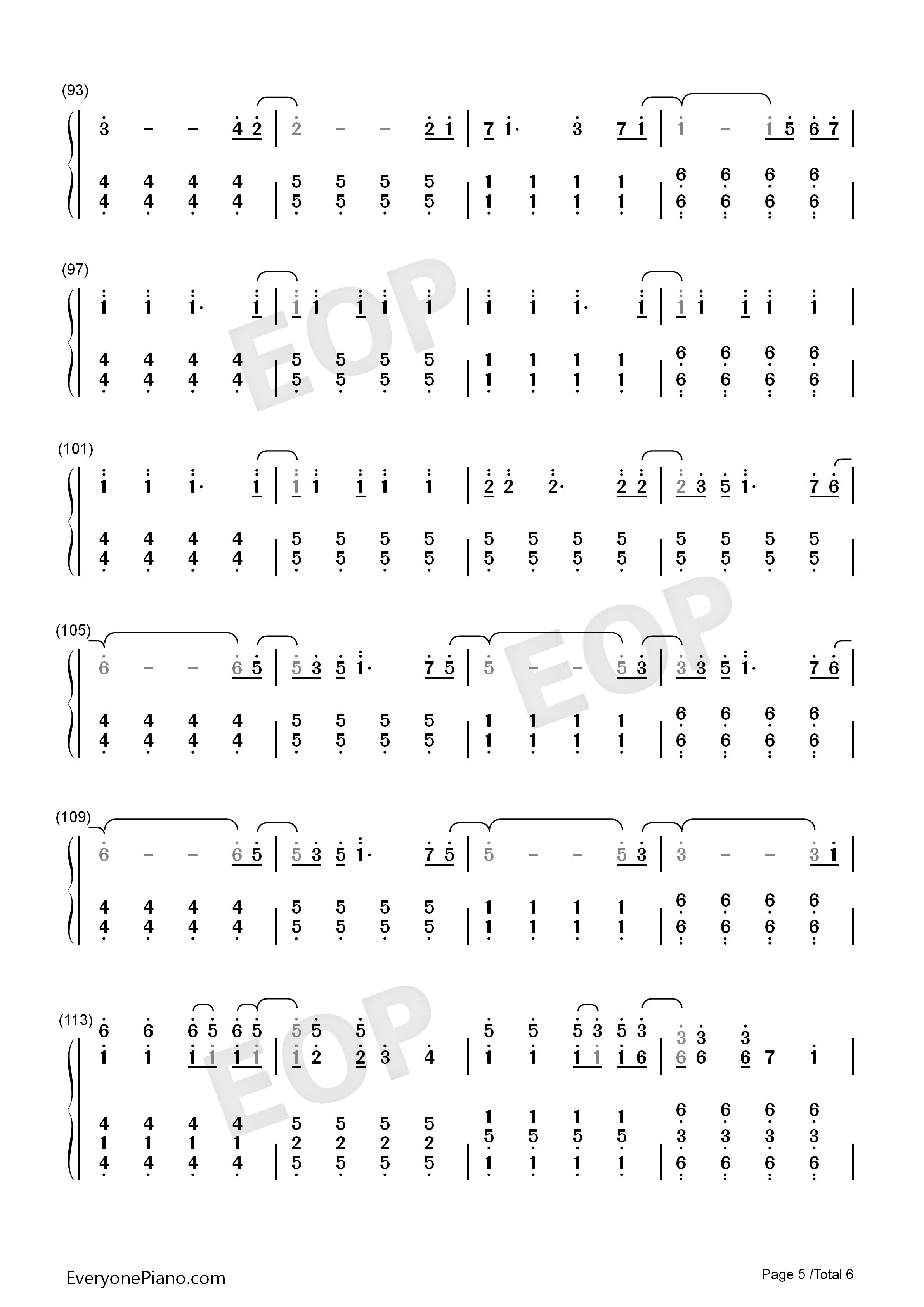 Viva la vida numbered musical notation preview 5 free piano sheet listen now print sheet viva la vida numbered musical notation preview 5 hexwebz Choice Image