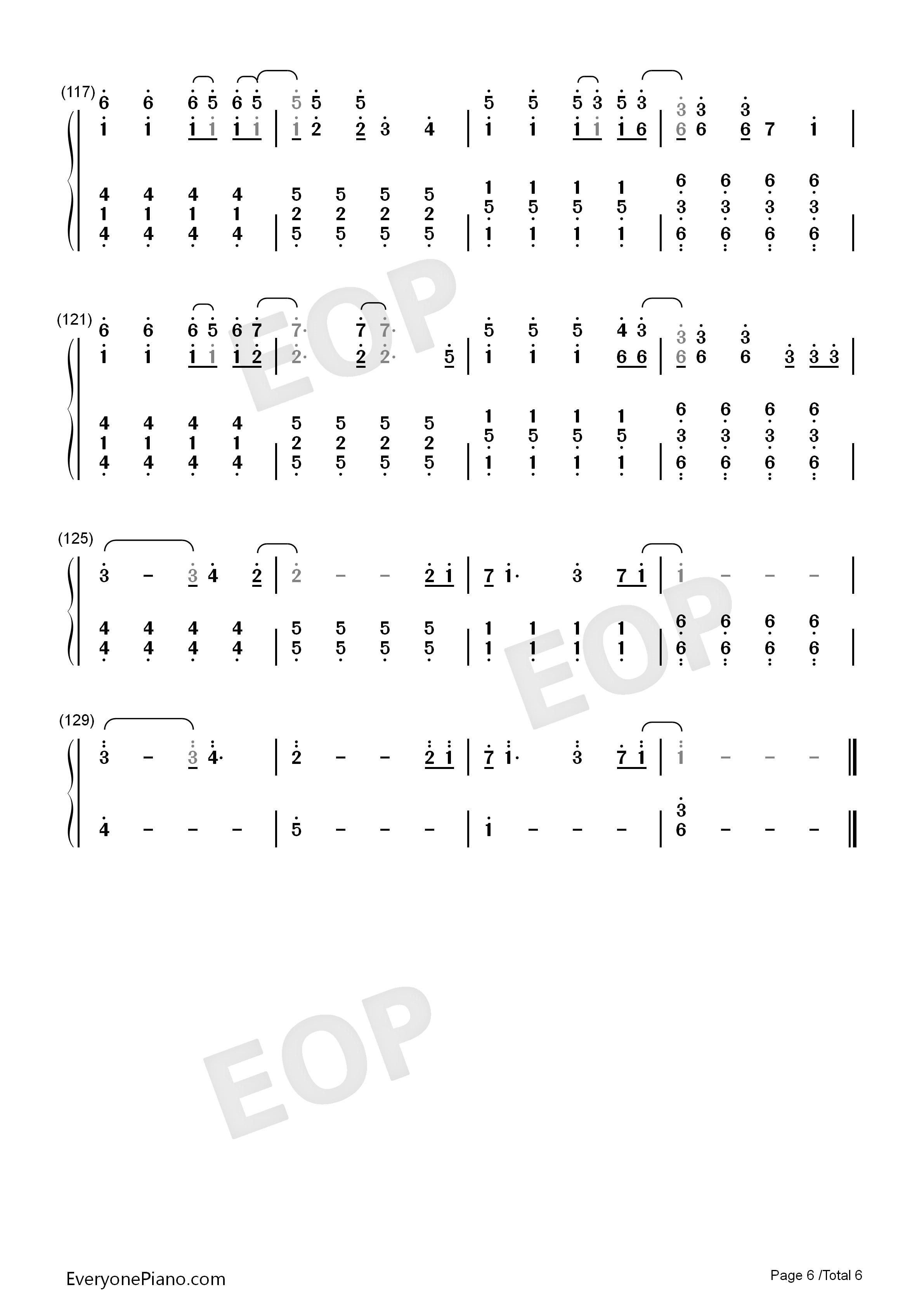 Viva la vida numbered musical notation preview 6 free piano sheet listen now print sheet viva la vida numbered musical notation preview 6 hexwebz Choice Image