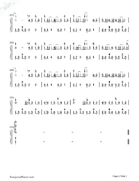 Obviously-Ming Ming Jiu-Numbered-Musical-Notation-Preview-2