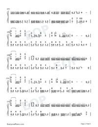 Flower Dance-花舞-很熟悉的旋律雙手簡譜預覽2