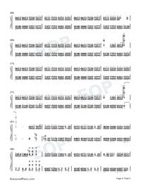 Flower Dance-花舞-很熟悉的旋律雙手簡譜預覽4