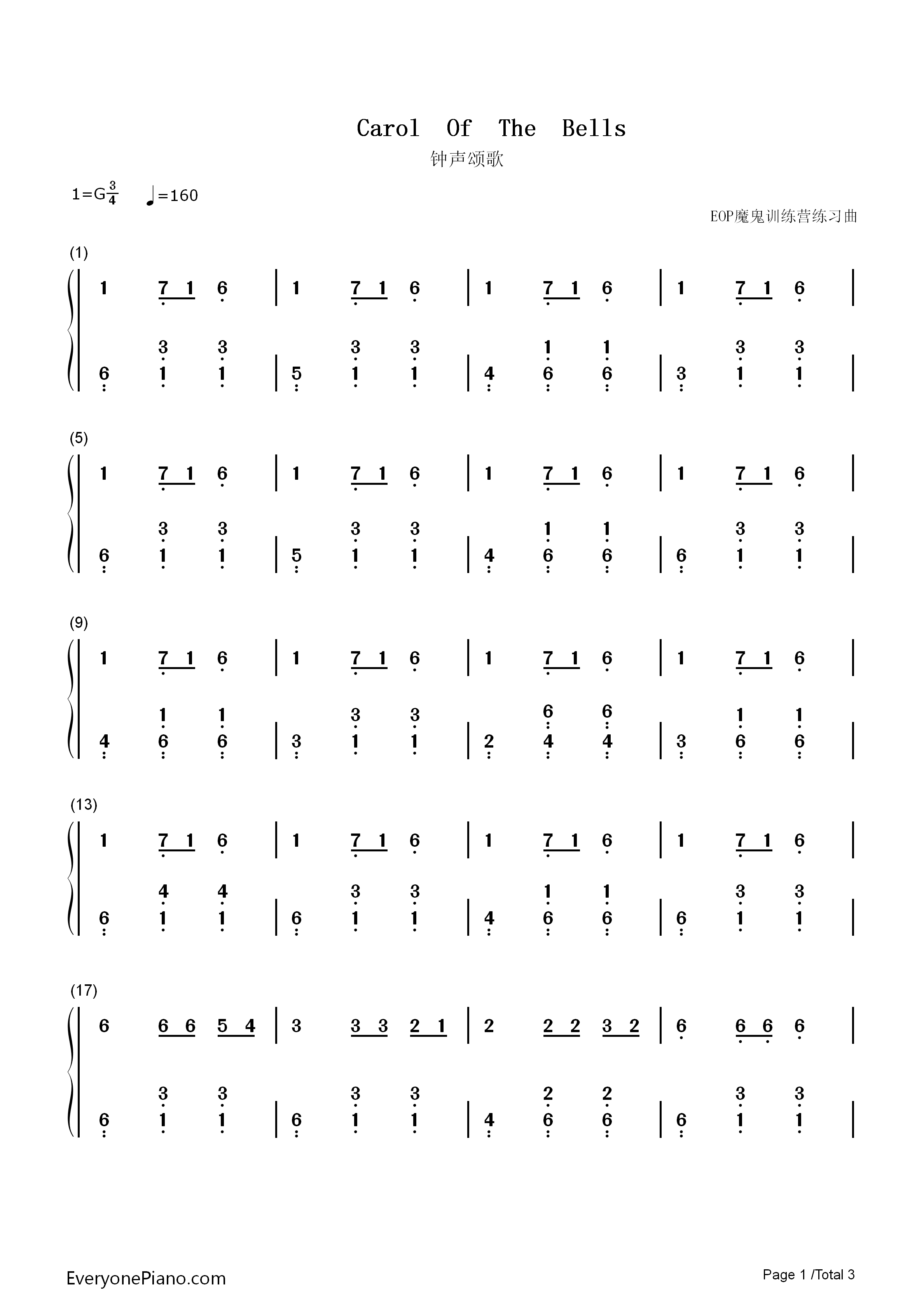 silver bells sheet music pdf free