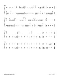 In The End-Linkin Park Free Piano Sheet Music & Piano Chords