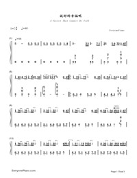 Say It Well Happy-Numbered-Musical-Notation-Preview-1