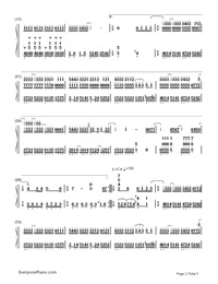 Say It Well Happy-Numbered-Musical-Notation-Preview-2