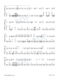 Common Jasmine Orange-Numbered-Musical-Notation-Preview-3