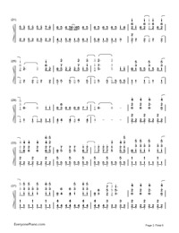 Monster-Big Bang-Numbered-Musical-Notation-Preview-2