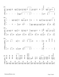 Monster-Big Bang-Numbered-Musical-Notation-Preview-5