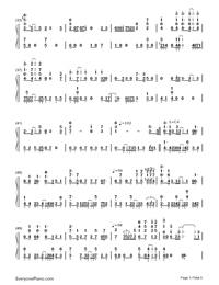Bird's Poem-Tori no Uta-Numbered-Musical-Notation-Preview-3