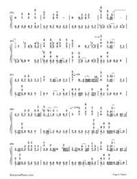 Bird's Poem-Tori no Uta-Numbered-Musical-Notation-Preview-4