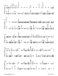 Bird's Poem-Tori no Uta-Numbered-Musical-Notation-Preview-5