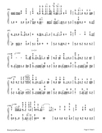Bird's Poem-Tori no Uta-Numbered-Musical-Notation-Preview-6
