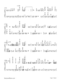 Bird's Poem-Tori no Uta-Numbered-Musical-Notation-Preview-7
