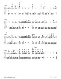 Bird's Poem-Tori no Uta-Numbered-Musical-Notation-Preview-9