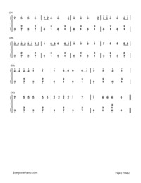 Ievan Polkka-Easy Version-Numbered-Musical-Notation-Preview-2