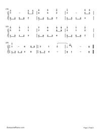 Happy Birthday-Full Version-Numbered-Musical-Notation-Preview-2