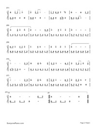 Castle in The Sky in C Major-Joe Hisaishi-Numbered-Musical-Notation-Preview-2