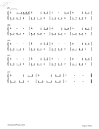 The First Snowflakes-Simplified Version-Numbered-Musical-Notation-Preview-2