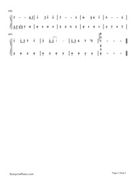 Castle In The Sky-Simplified Version-Numbered-Musical-Notation-Preview-3