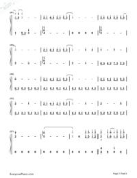 だんご大家族-CLANNADエンディングテーマ両手略譜プレビュー3