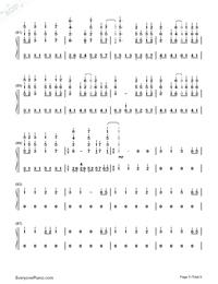 だんご大家族-CLANNADエンディングテーマ両手略譜プレビュー5