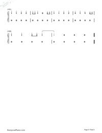 だんご大家族-CLANNADエンディングテーマ両手略譜プレビュー6