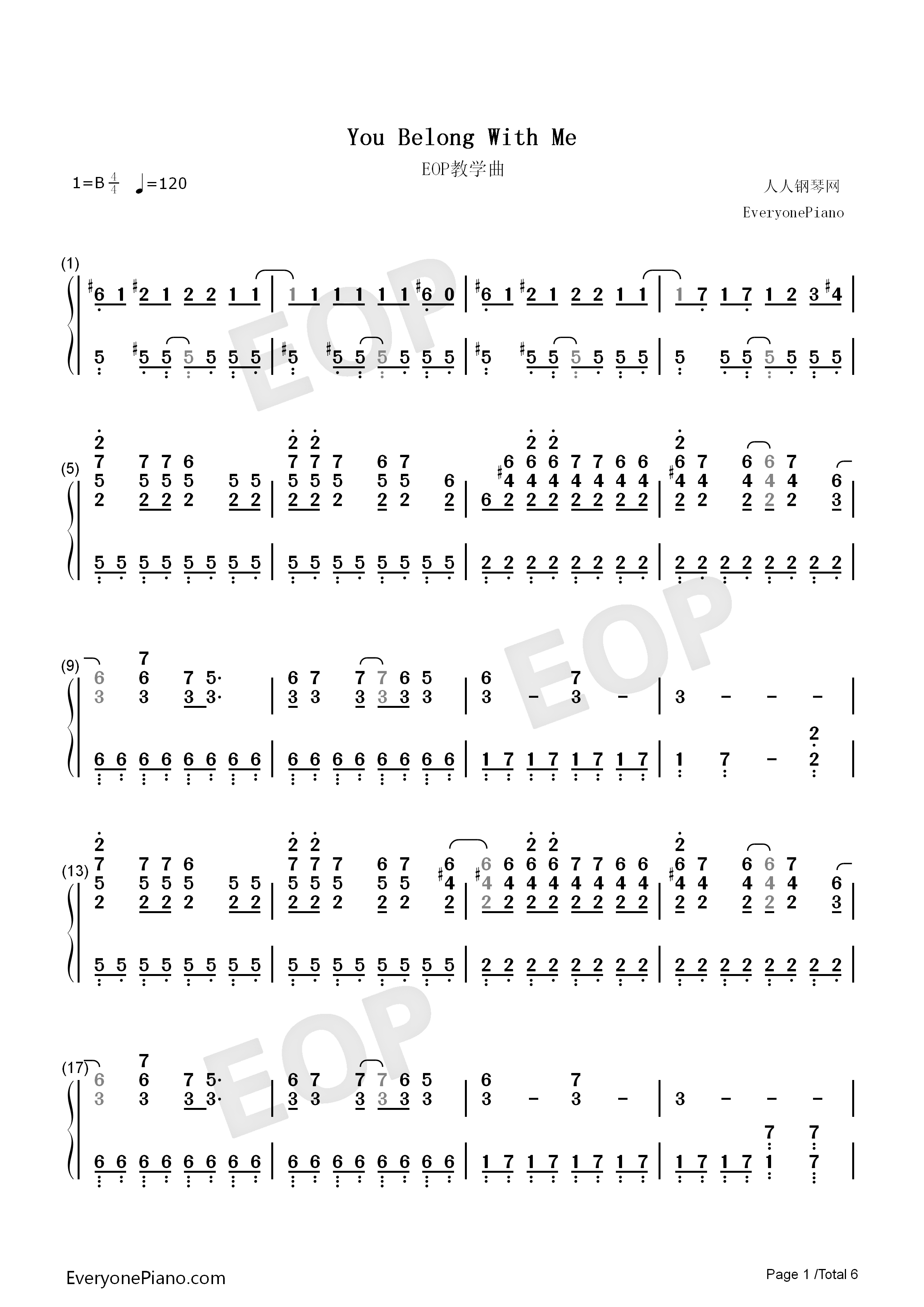You belong with me taylor swift numbered musical notation preview listen now print sheet you belong with me taylor swift numbered musical notation preview 1 hexwebz Image collections