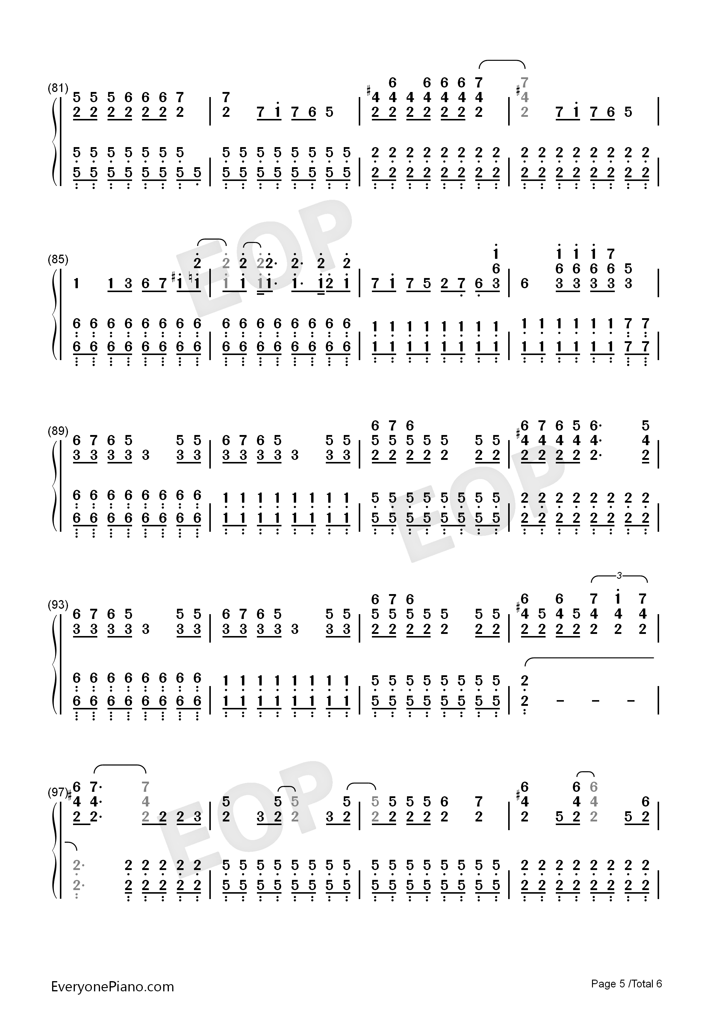 You belong with me taylor swift numbered musical notation preview listen now print sheet you belong with me taylor swift numbered musical notation preview 5 hexwebz Image collections