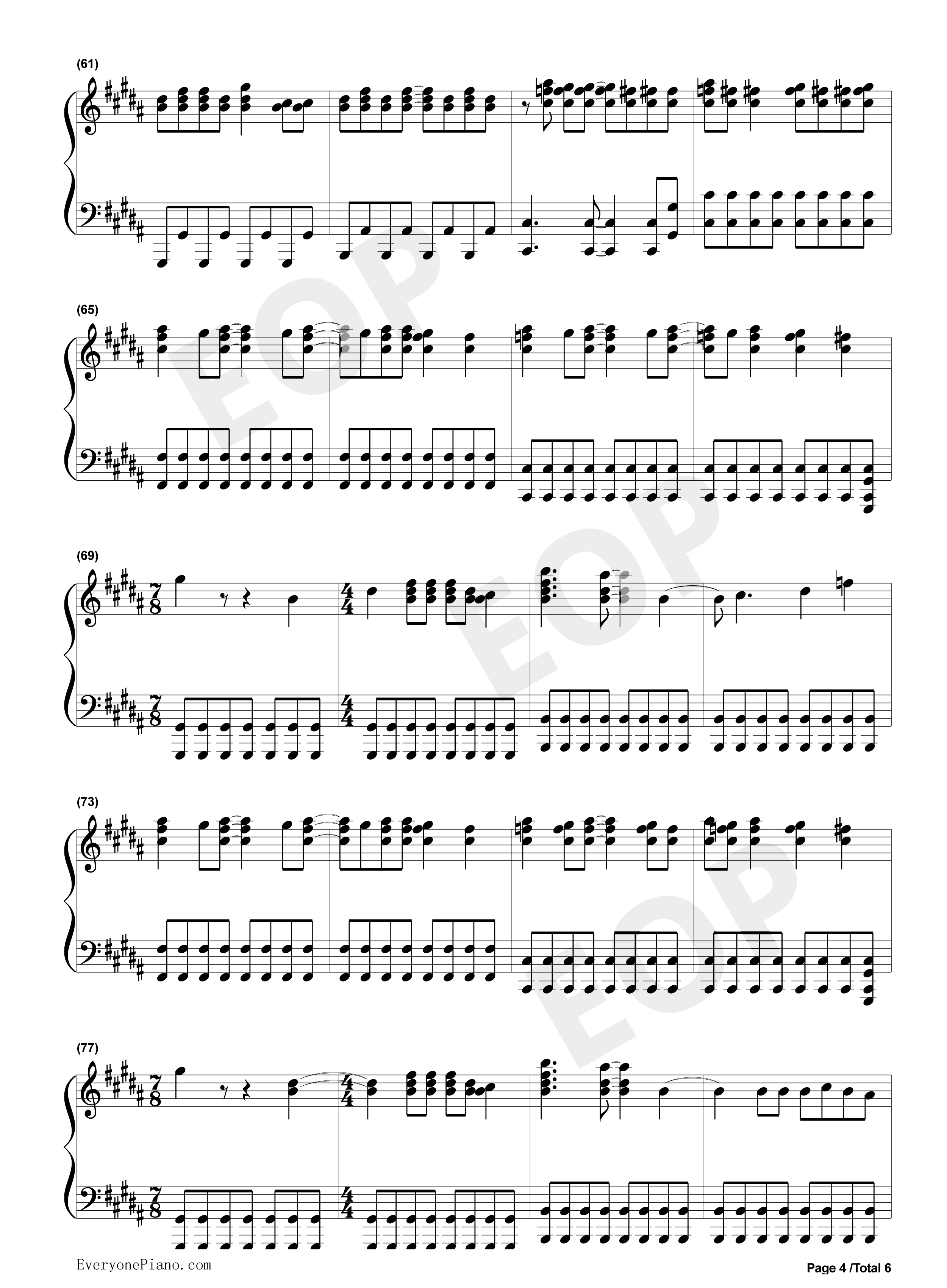 You belong with me taylor swift stave preview 4 free piano sheet listen now print sheet you belong with me taylor swift stave preview 4 hexwebz Image collections