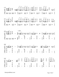 Servant of Evil-Numbered-Musical-Notation-Preview-2