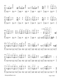 Servant of Evil-Numbered-Musical-Notation-Preview-4