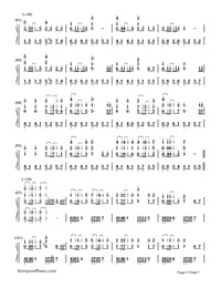 Servant of Evil-Numbered-Musical-Notation-Preview-5