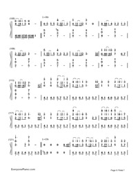 Servant of Evil-Numbered-Musical-Notation-Preview-6