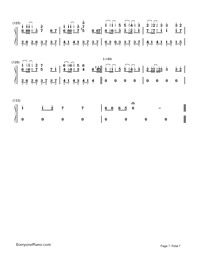 Servant of Evil-Numbered-Musical-Notation-Preview-7