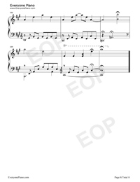 The Portrait-Titanic OST Stave Preview 8