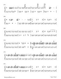 Meguru Kisetsu-Changing Seasons-Numbered-Musical-Notation-Preview-2