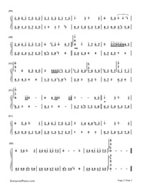 Meguru Kisetsu-Changing Seasons-Numbered-Musical-Notation-Preview-3