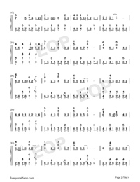End of the World-Numbered-Musical-Notation-Preview-2