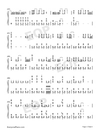End of the World-Numbered-Musical-Notation-Preview-3