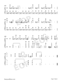 End of the World-Numbered-Musical-Notation-Preview-4