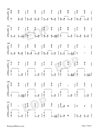 You Exist In My Song-Accompaniment Version-Numbered-Musical-Notation-Preview-2
