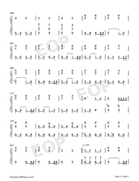 You Exist In My Song-Accompaniment Version-Numbered-Musical-Notation-Preview-3